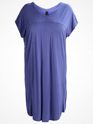 ADIA Jerseyklänning blue crystal