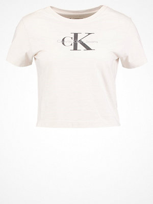 Calvin Klein Jeans Tshirt med tryck natural