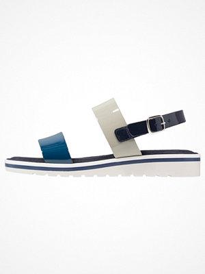 Tamaris Sandaletter med kilklack blue