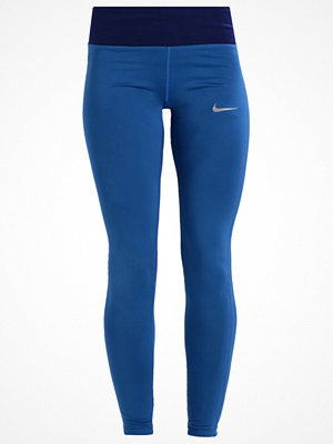 Sportkläder - Nike Performance POWER ESSENTIAL Tights industrial blue/binary blue/reflective silver