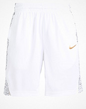 Sportkläder - Nike Performance BLACKTOP Träningsshorts white/black/metallic gold