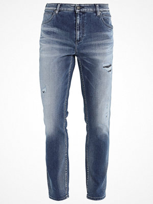 Calvin Klein Jeans SLIM ANKLE BANG ON BLUE Jeans straight leg denim