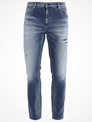 Jeans - Calvin Klein Jeans SLIM ANKLE BANG ON BLUE Jeans straight leg denim