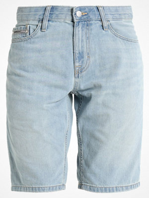 Calvin Klein Jeans SLIM Jeansshorts light blue