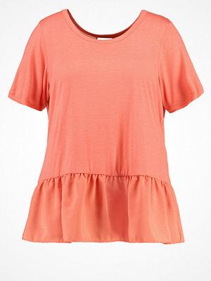 Junarose JRTINNA Tshirt med tryck georgia peach
