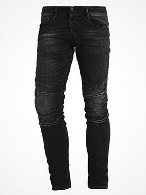 Jeans - Jack & Jones JJIGLENN  Jeans slim fit black denim