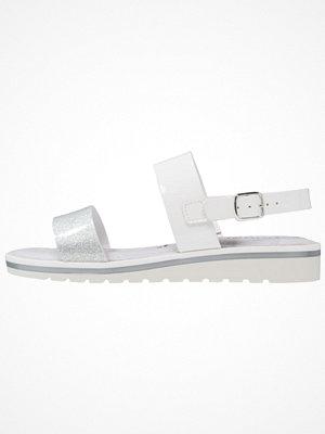 Tamaris Sandaletter med kilklack white/silver