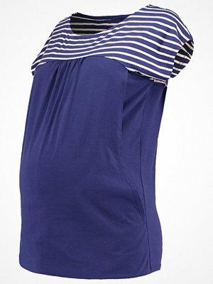 Spring Maternity ALLIE Tshirt med tryck navy