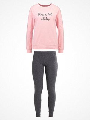 Even&Odd Pyjamas light grey melange/light pink
