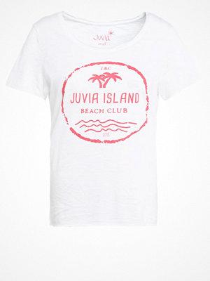 Juvia ISLAND Tshirt med tryck white candy