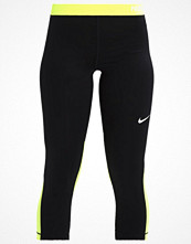 Sportkläder - Nike Performance Tights black/volt/white