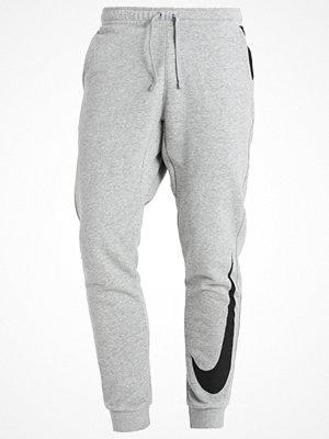 Sportkläder - Nike Sportswear HYBRID Träningsbyxor dark grey heather/black