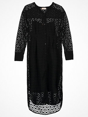 Custommade DEHLIA  Skjortklänning anthracite black