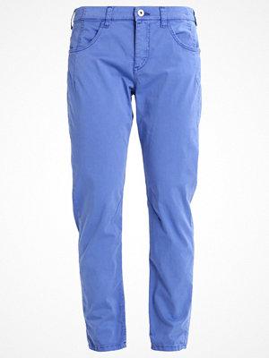 MAC blå byxor Chinos cobalt