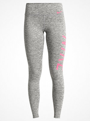 Sportkläder - Nike Performance POWER Tights carbon heather/racer pink