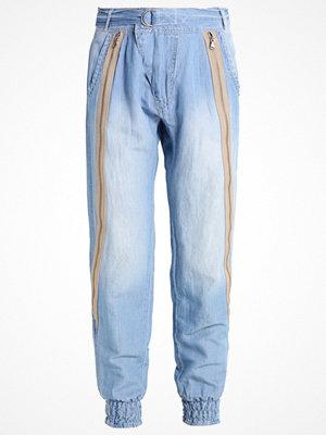 Cream LIV  Tygbyxor soft blue denim
