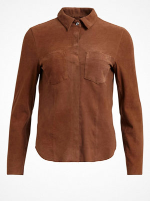 Vila Skjorta leather cognac