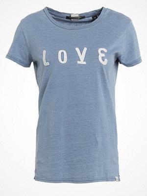 Scotch & Soda Tshirt med tryck cadillac blue