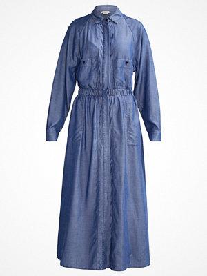 Lacoste Skjortklänning medium blue