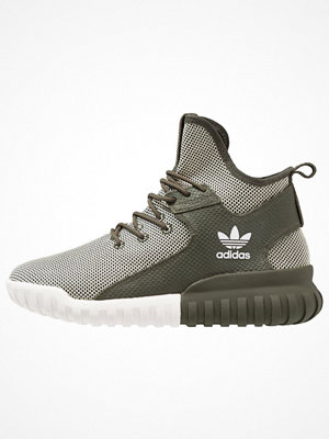 Sneakers & streetskor - Adidas Originals TUBULAR X Sneakers night cargo/crystal white