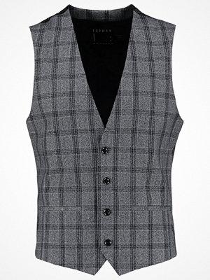 Västar - Topman Kostymväst grey