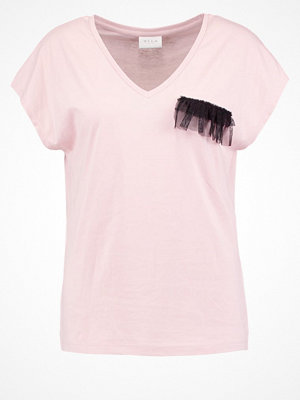 Vila VIDREAMERS Tshirt med tryck pale mauve
