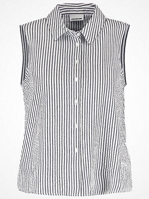 Noisy May NMMASON Skjorta navy blazer/white
