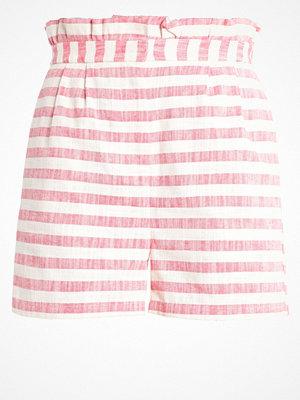 Vero Moda VMLAURA Shorts hibiscus/oatmeal