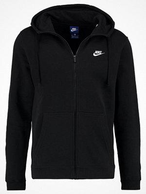 Street & luvtröjor - Nike Sportswear CLUB Sweatshirt black/black/white