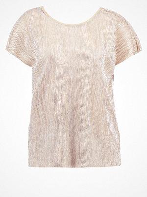 Vero Moda VMMIRANDA Tshirt med tryck moonlight/silver foil