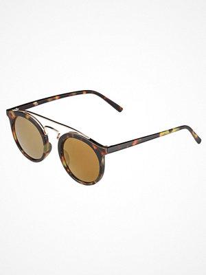 Even&Odd Solglasögon mottled brown