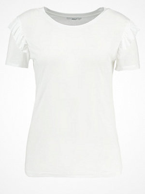 Only ONLBIBBI Tshirt med tryck white