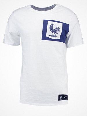 Sportkläder - Nike Performance FRANKREICH Tshirt med tryck white/white