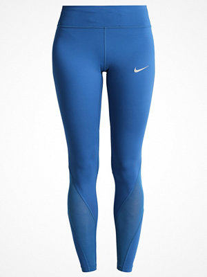 Sportkläder - Nike Performance POWER EPIC LUX Tights industrial blue/reflective silver
