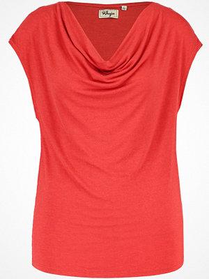 khujo MANIRIN Tshirt med tryck washed red