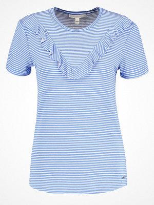 Tom Tailor Denim Tshirt med tryck marina bay blue