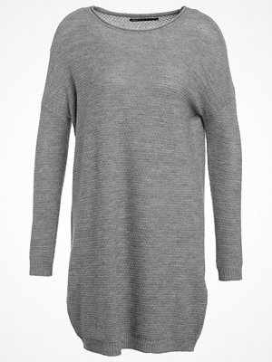 Only ONLLUNA  Stickad tröja medium grey melange