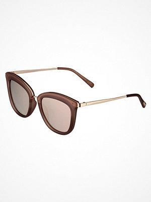 Le Specs CALIENTE  Solglasögon matte mocha/goldcoloured