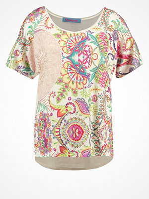 Desigual VALKIRIA Tshirt med tryck crudo shiny