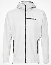 Regnkläder - Adidas Performance TERREX AGRAVIC ALPHA  Outdoorjacka clear onix