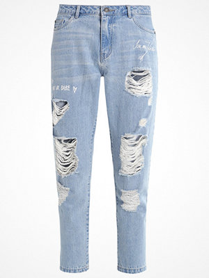 Jeans - Only ONLTONNI  Jeans relaxed fit light blue denim