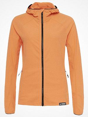 Sportjackor - Adidas Performance TERREX TRACEROCKER Fleecejacka easy orange