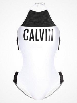 Baddräkter - Calvin Klein Swimwear INTENSE POWER Baddräkt white