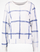 Marc O'Polo DENIM Sweatshirt white/blue
