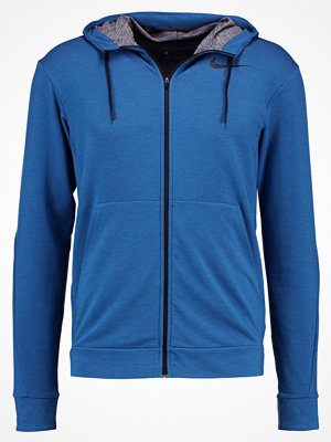 Street & luvtröjor - Nike Performance Sweatshirt industrial blue/black
