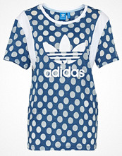 Adidas Originals TREFOIL Tshirt med tryck real blue/pearl opal