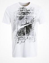 Sportkläder - Nike Performance Tshirt med tryck white/black