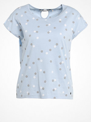 Nümph DOREY Tshirt med tryck cashmere blue