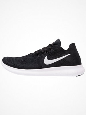 Sport & träningsskor - Nike Performance FREE RUN FLYKNIT 2017 Löparskor black/white/anthracite/dark grey