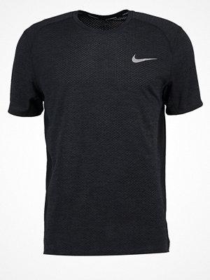 Sportkläder - Nike Performance MILER  Tshirt med tryck black pine heather/black/reflective silver